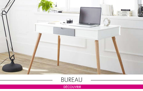 Bureau contemporain achatdesign for Meuble bureau contemporain