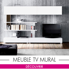 Meuble TV Mural design