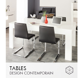 Tables design Contemporain