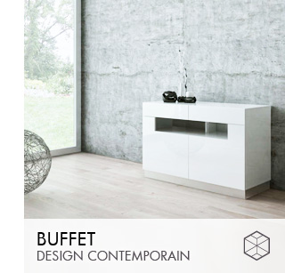 Buffets design contemporain