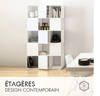 Etagères design Contemporain
