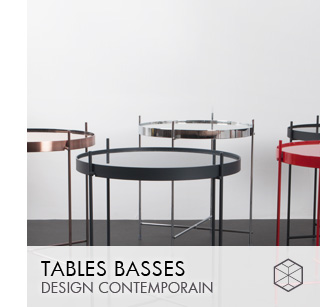 Tables basses design Contemporain