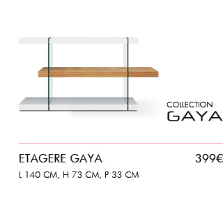 Nouvelle collection : Etagere Gaya