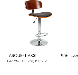 Nouvelle collection : Tabouret Aksi