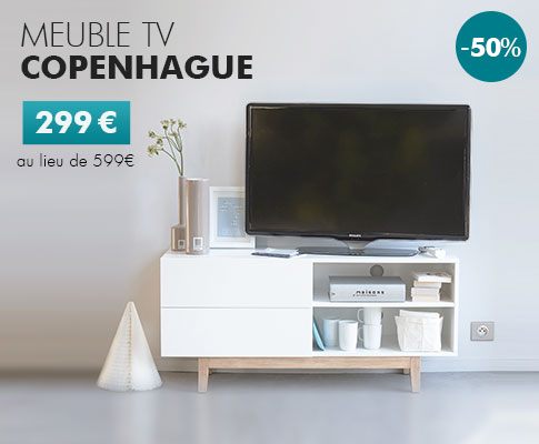 Meuble TV Copenhague
