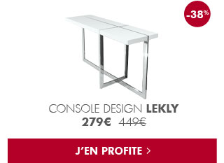 Soldes : Console design Lekly