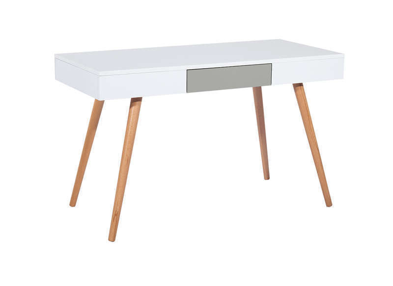 Meubler decorer bureau scandinave blanc accueil design for Bureau scandinave