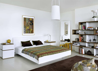 Am nager et meubler une chambre moderne achatdesign for Amenager une chambre adulte