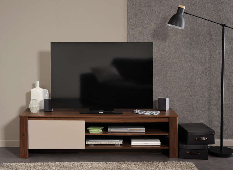 Meuble tv hifi video contemporain achatdesign - Meubles tv contemporain ...