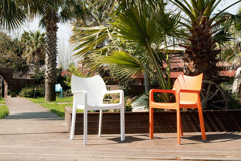 Chaise de jardin design