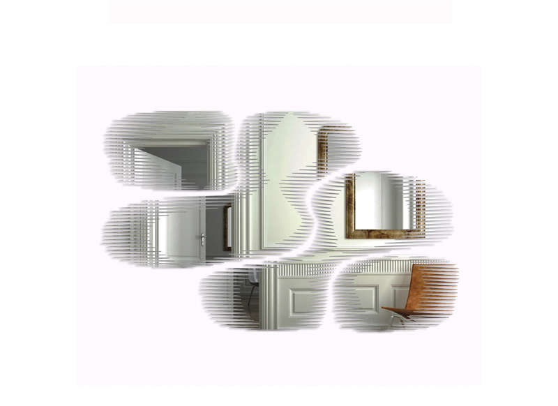 MIROIR DESIGN Transparent SNAP MIRROR