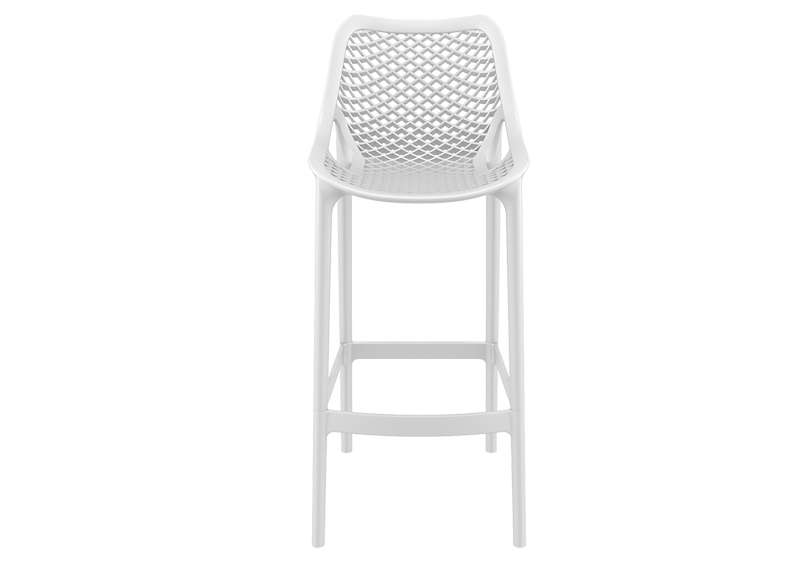 TABOURET POLYPROPYLENE Blanc AIR XL