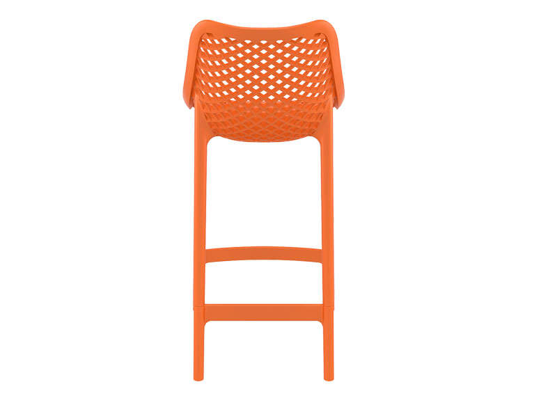 TABOURET POLYPROPYLENE Orange AIR