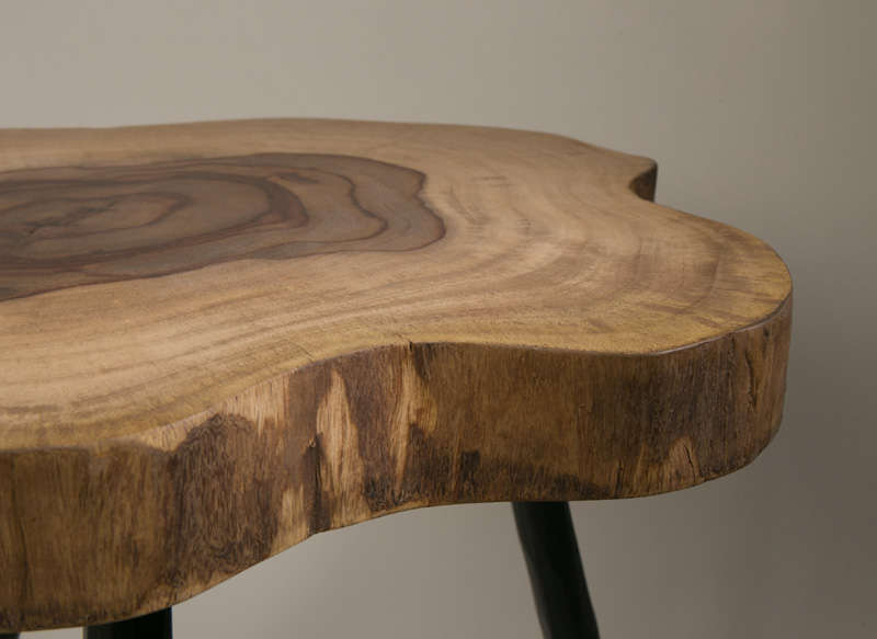 Table basse bois achatdesign for Table salon bois massif