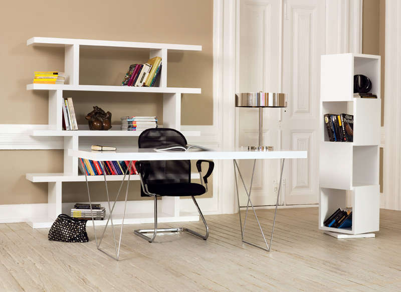 Etagere blanche achatdesign for Etageres ceramiques blanche