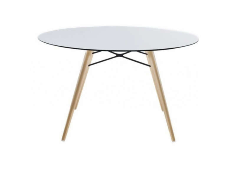 TABLE RONDE Blanc WOX