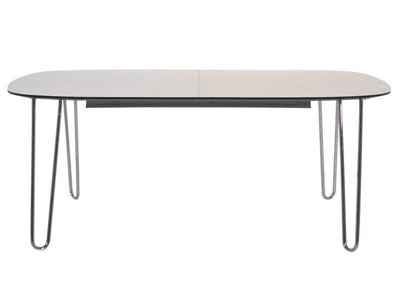 Table avec pietement en metal achatdesign for Pietement table metal