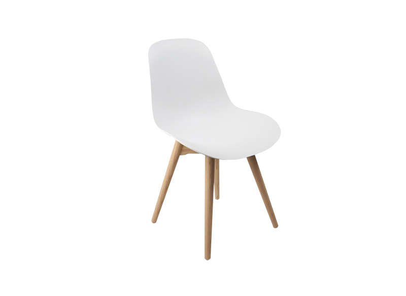 Chaise scandinave blanche cramble - Chaise style scandinave ...