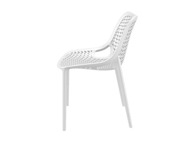 Chaise de jardin design Blanc AIR