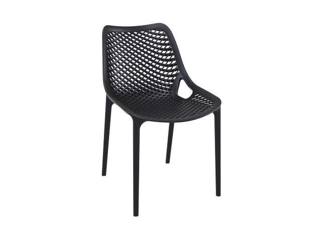 chaise de jardin design noir air - Chaise Noire Design