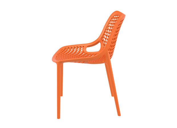 Chaise De Jardin Design Orange AIR