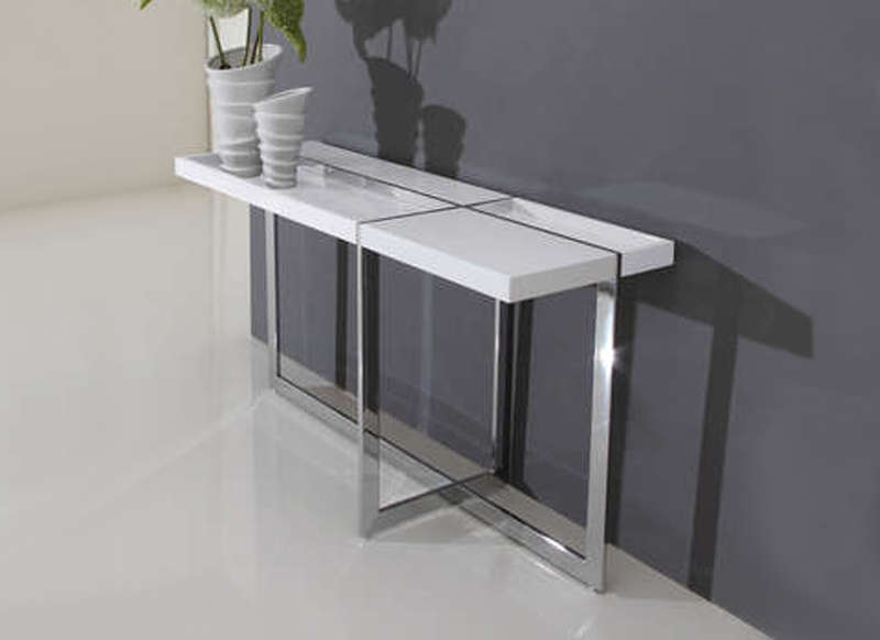 Console design lekly meuble entr e achatdesign for Console salon meuble