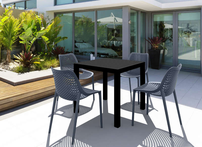 Ensemble de jardin chaise et table ARES :: Achatdesign
