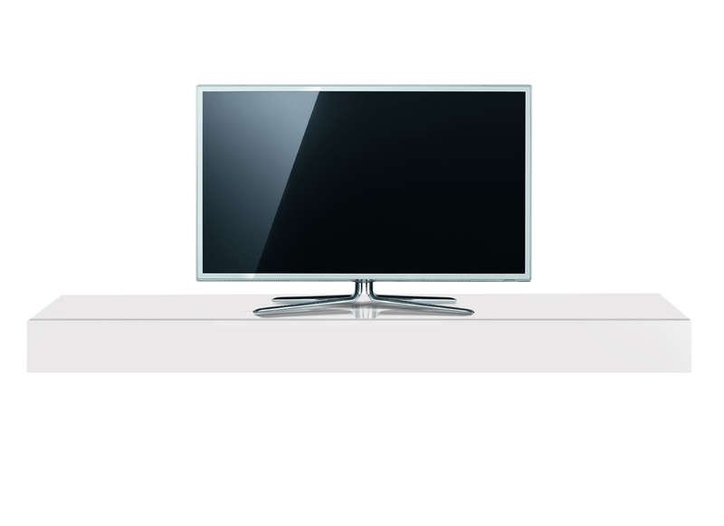 Meuble tv laqu blanc 160 cm borg achatdesign for Achatdesign meuble tv