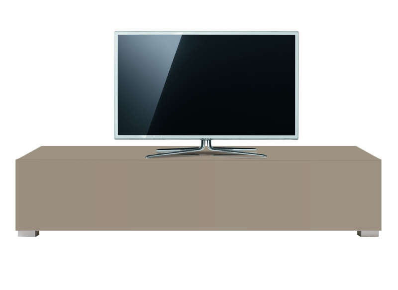 Meuble tv design laqu 160 cm sylt achatdesign for Achatdesign meuble tv