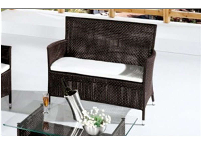 Canape jardin destockage marron bermude 2p - Destockage de canape ...