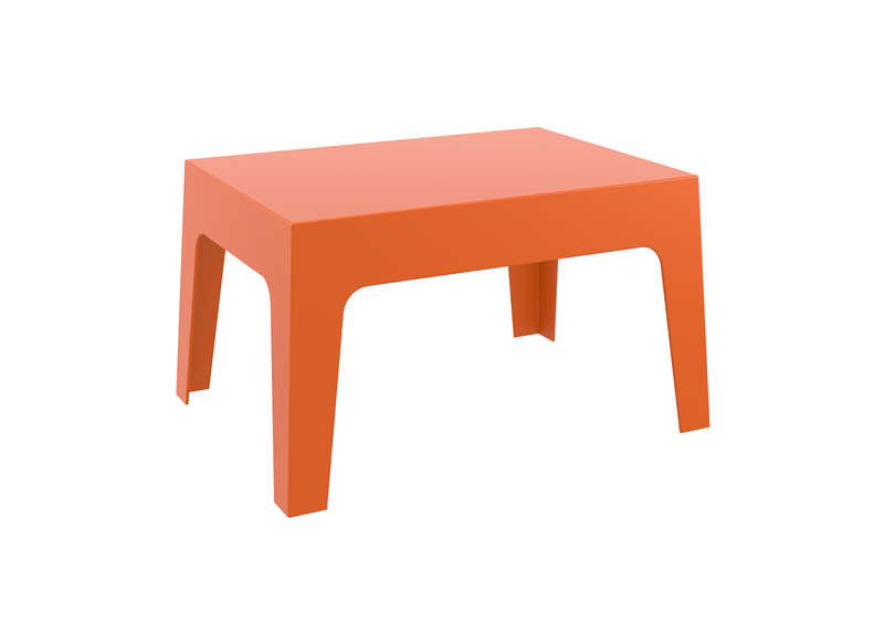 Table basse de jardin Orange ICE