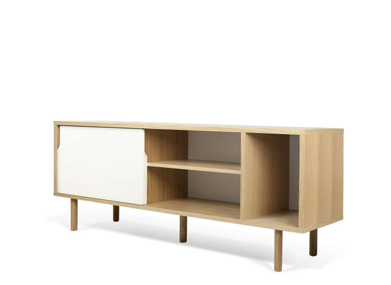 Meuble tv scandinave blanc dann ch ne - Buffet design scandinave ...