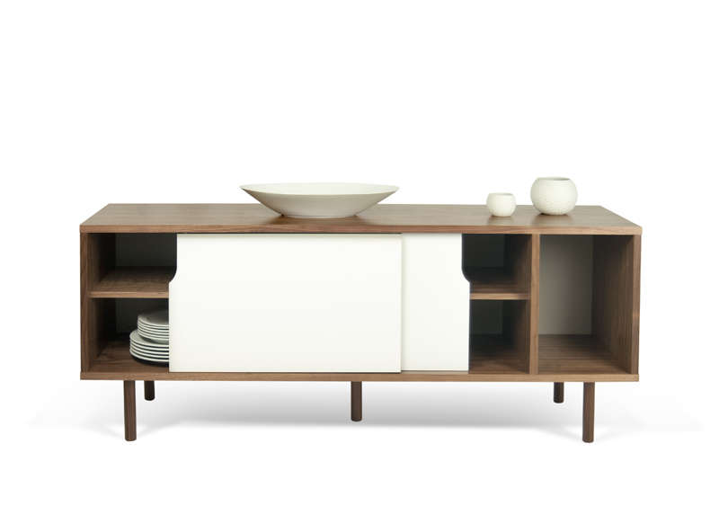 MEUBLE TV SCANDINAVE Blanc DANN