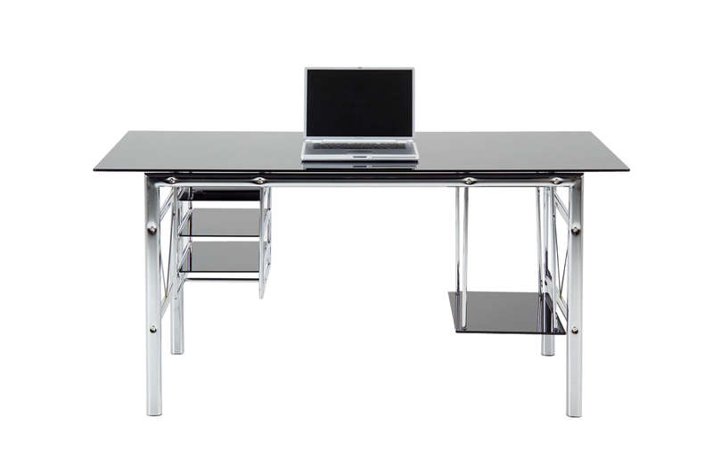 Meuble design de bureau achatdesign - Table d ordinateur en verre ...
