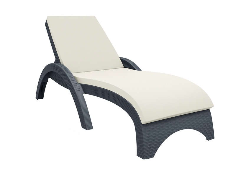 chaise de jardin grosfillex blanc. Black Bedroom Furniture Sets. Home Design Ideas