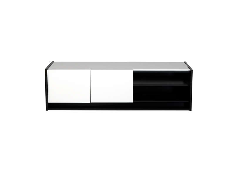 Banc Tv Flash Blanc : Banc Tv Blanc Et Noir Blanc & Noir Casa