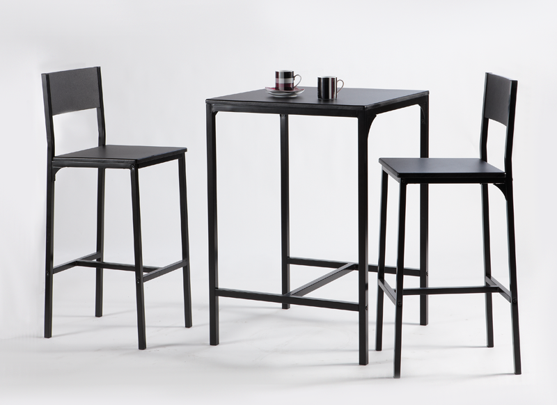 Tabouret table a manger for Table de cuisine bar haute