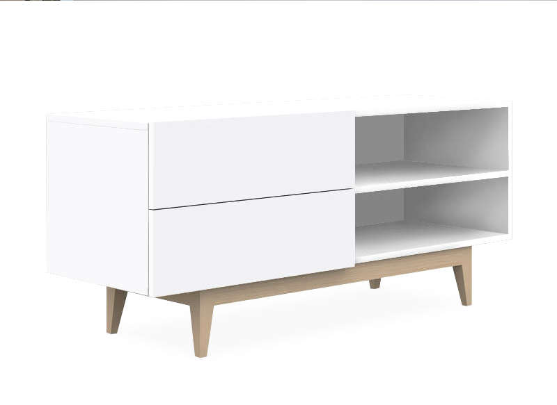 Meuble tv scandinave achatdesign for Meuble tv scandinave
