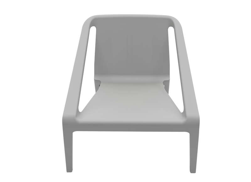 Chaise De Jardin Design Gris Fonce ALLIS