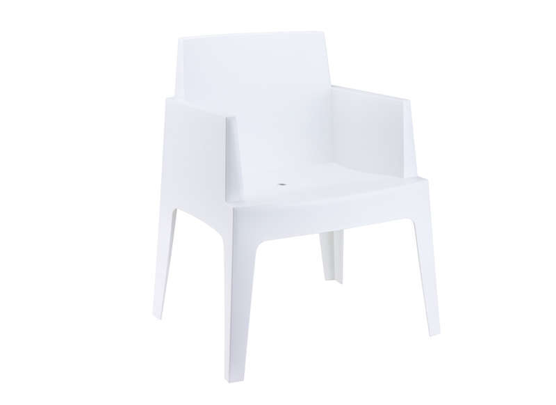 Chaise De Jardin Design Blanc ICE