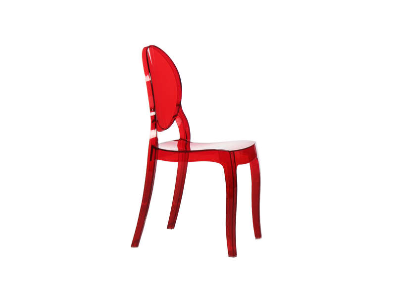 Chaise enfant design Rouge ELIZABETH BABY