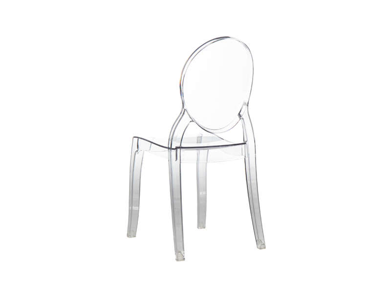 Chaise Enfant Design Transparent ELIZABETH BABY