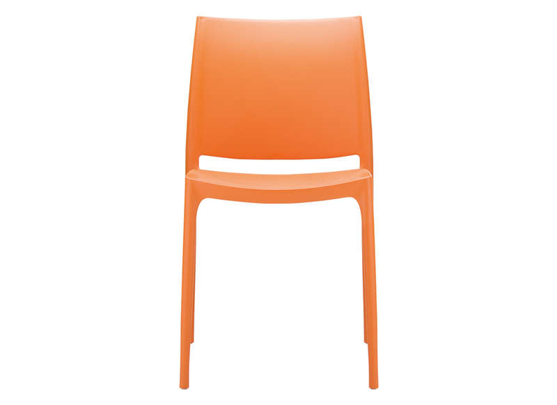 Chaise de jardin discount Orange FOXY