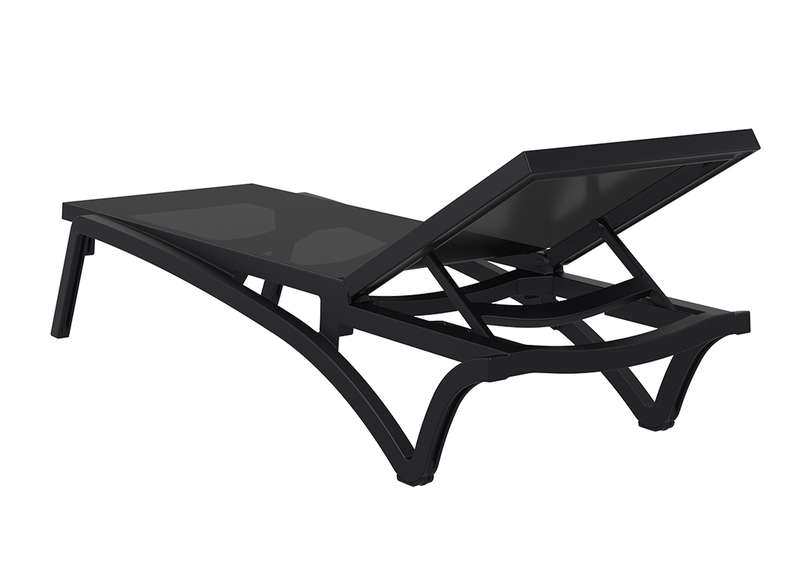 Emejing table et chaise de jardin noir ideas awesome for Chaise longue salon