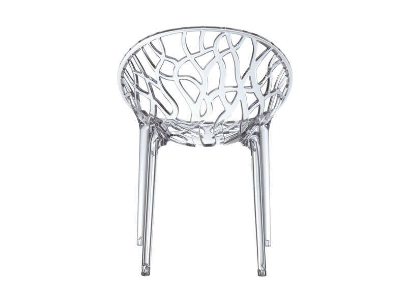 Chaise Design En Plastique Transparent CRYSTAL