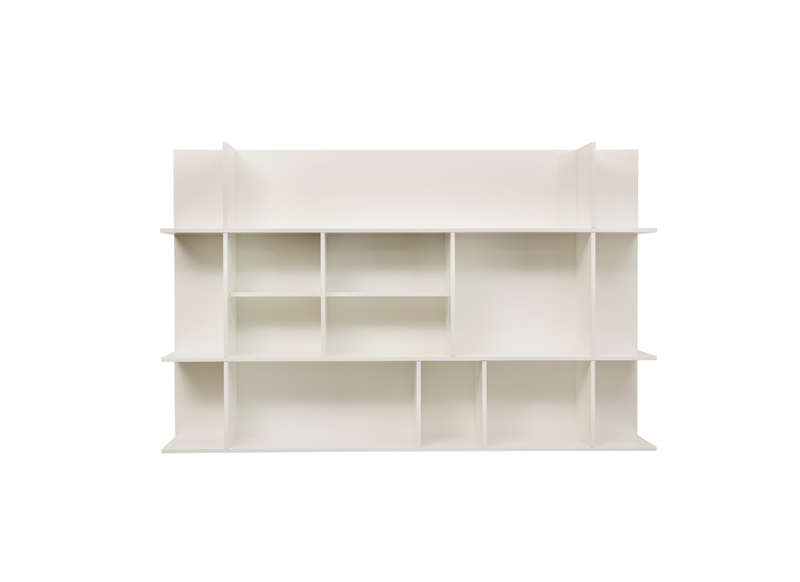 Etag re murale design blanc panorama Etagere murale design