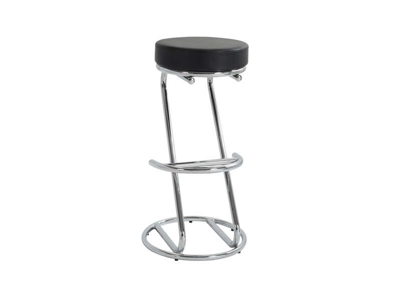 TABOURET DE BAR DESIGN Noir TOPIA