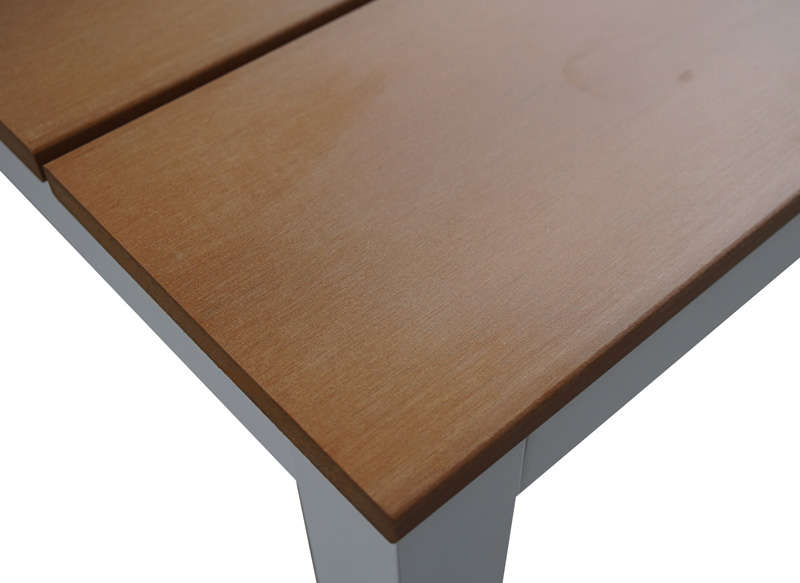 ENSEMBLE TABLE / 2 BANCS Blanc SYDNEY