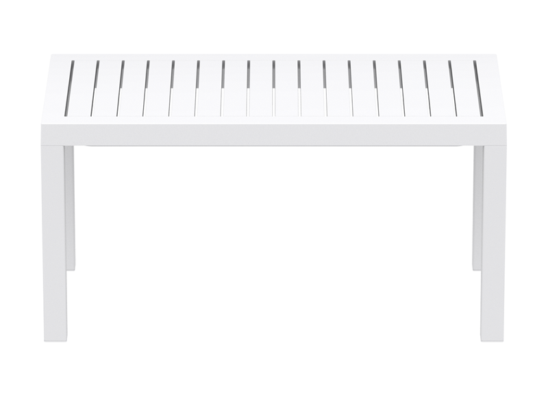 TABLE BASSE EN POLYPROPYLENE Blanc PACIFIC