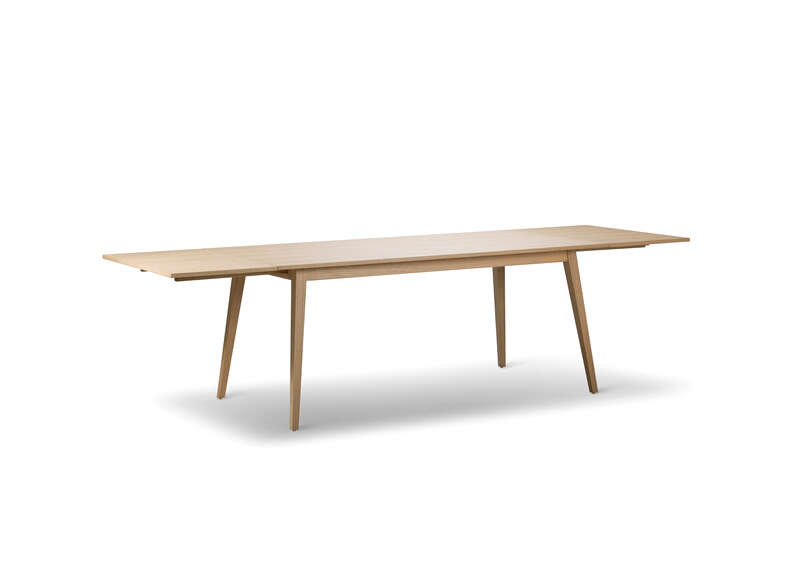 TABLE BLANCHI / CHENE CLAIR Blanc LUND